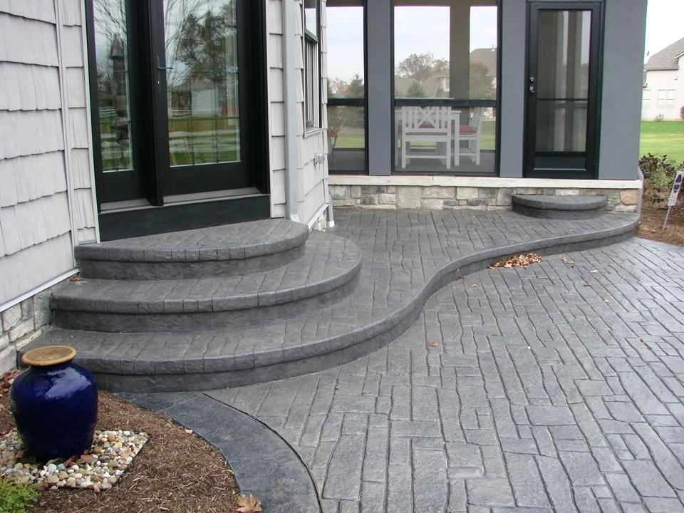 How Thick Does A Concrete Slab Need To, Patio Concrete Thickness